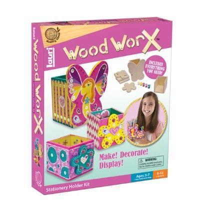 Wood Worx® Stationery Holder Kit - Patch