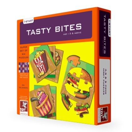 Super Set Of Six - Tasty Treats - TOY-KRAFT
