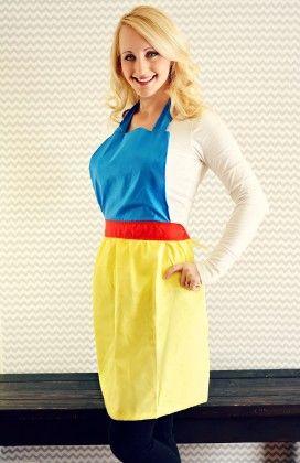Snowwhite Princess Apron - Xcel Couture