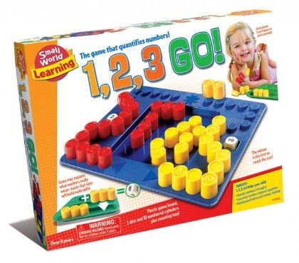 1, 2, 3 Go! - Small World Toys