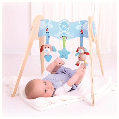 Bruno Baby Gym With Soft Plush Toys - Big Jig Toys