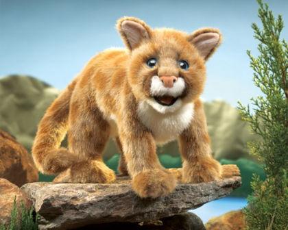 Mountain Lion Cub - Folkmanis