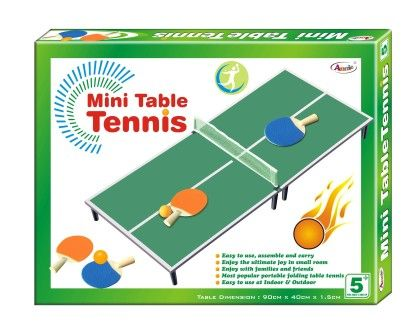 Annie Mini Table Tennis Table