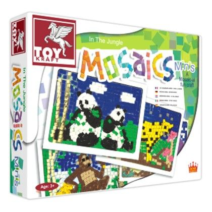 Mosaics Minis - In The Jungle - TOY-KRAFT