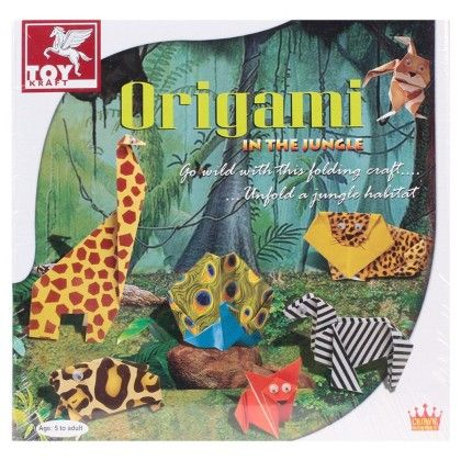 Origami In The Jungle - TOY-KRAFT
