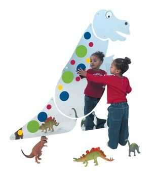 Friendly T-rex Mirror - The Children's Factory