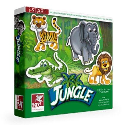 Head & Tail - Jungle - TOY-KRAFT