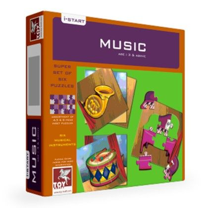 Super Set Of Six - Music - TOY-KRAFT