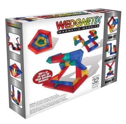 Wedgnetix 32-pc Set - Wedgits