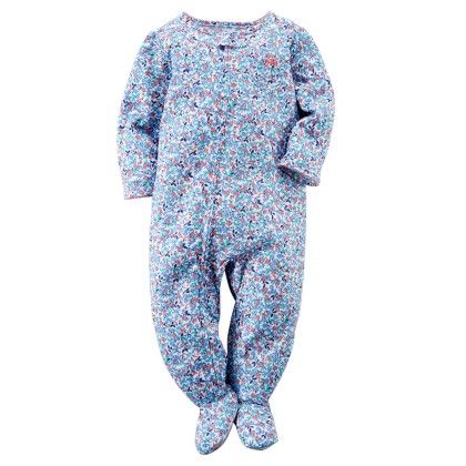 1-piece Snug Fit Cotton Pjs - Floral - Carter's