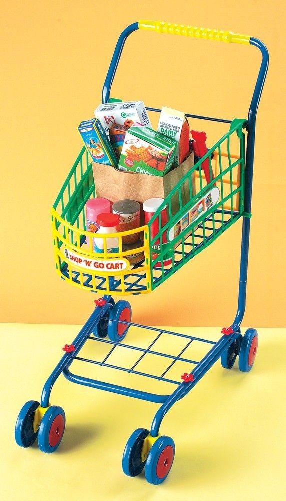 Shop 'n' Go Shopping Cart - Small World Toys