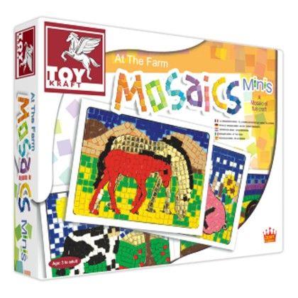 Mosiacs Minis - At The Farm - TOY-KRAFT