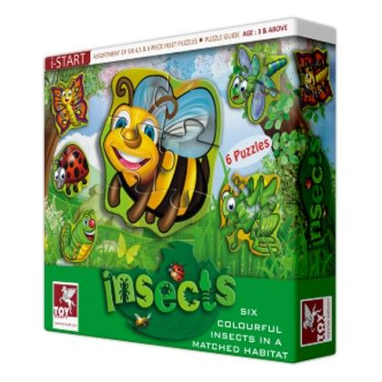 Super Set Of Six - Insects - TOY-KRAFT