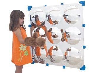 9 Bubble Maxi Mirror - The Children's Factory