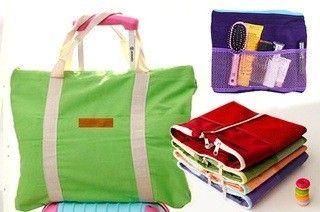 2 In 1 Handbag Cum Travel Bag Organiser (assorted) - Connectwide