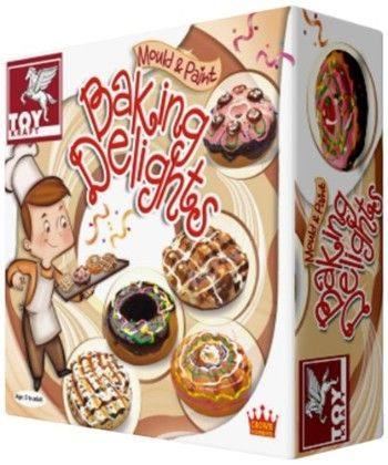 Mould And Paintbaking Delights - TOY-KRAFT