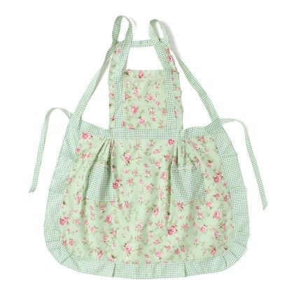 Thin Cotton With Printed Rosettes Light Green - The Sun