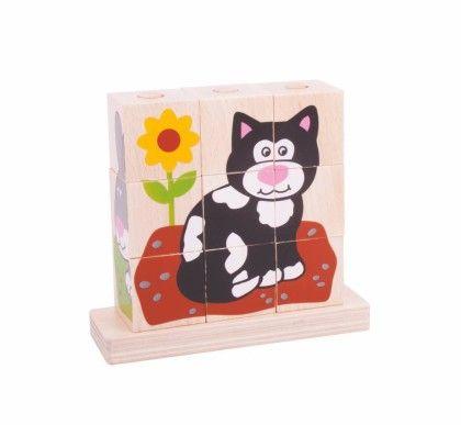 Stacking Blocks - Pets - Big Jig Toys