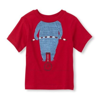 Short Sleeve Headless Bear Graphic Tee - The Children's Place