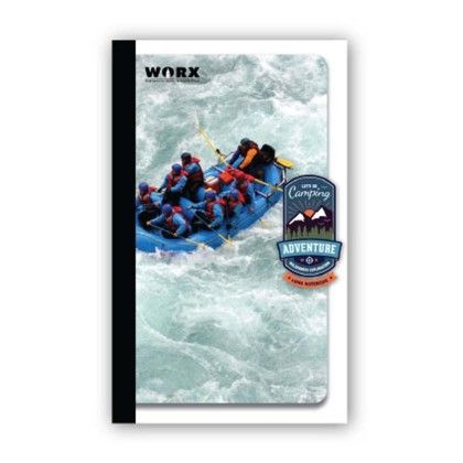 Long Notebook, 116 Pages (ruled) Water Sports - Chitra