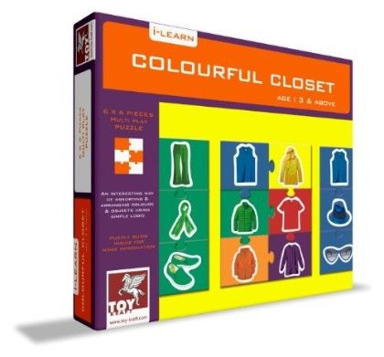 Colourful Closet - TOY-KRAFT