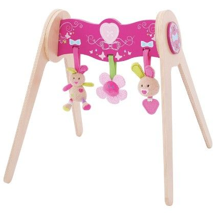 Bella Baby Gym With Soft Plush Toys - Big Jig Toys