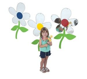 Set Of 3 Flower Mirrors - The Children's Factory