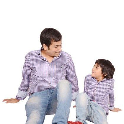 Checkered Shirt For Boys - BonOrganik