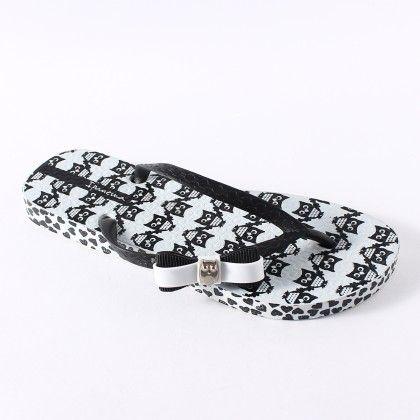Ipanema Fashion Print White - Black