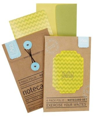 Precious 4-pack Folio Notecard Set - CR Gibson
