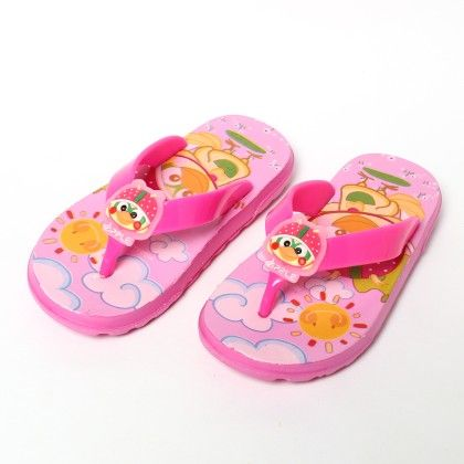 Sunny Bird Slip Ons-pink - Red Apple