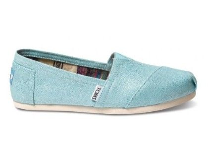 Women's Classic Casual Shoe - Turquoise - Toms