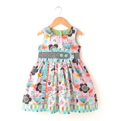 Flower Power Dress - Jelly The Pug