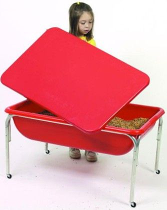Large Sensory Table And Lid Set - The Children's Factory