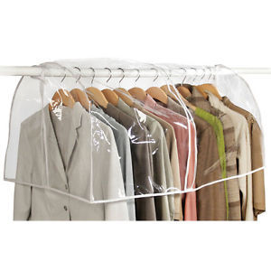 Clearly Organized Clear Closet Cover - Richard Homewares
