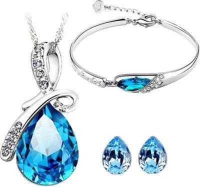 Alloy Jewel Set(blue) - Magnus