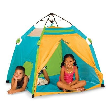 One Touch Beach Tent 48 In X 48 In X 36 In - Pacific Play Tents