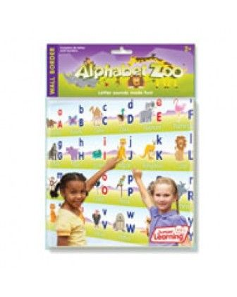 Alphabet Zoo - Wall Border - Junior Learning