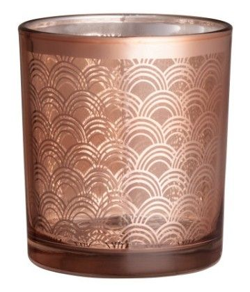 Glass Tea Light Holder - Bronze - H&M Home