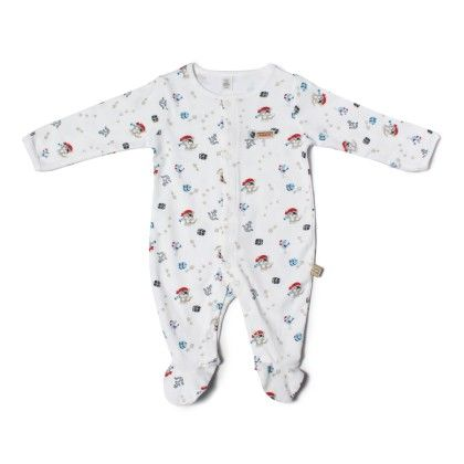 Pirate Story Allover Print Soft Sleepsuit-printed - TOFFYHOUSE