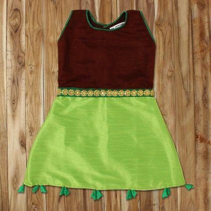 Coffee Sage Suede Silk Short Dress - My Munchkin
