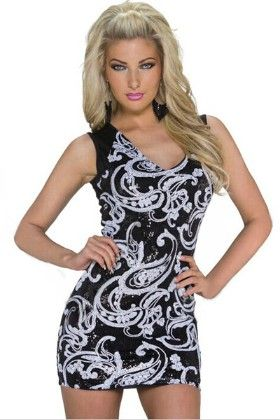 Multi Printed Short Dress - Enigma