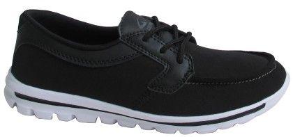 Ladies Sneakers-blk2552 - CPC Sneakers