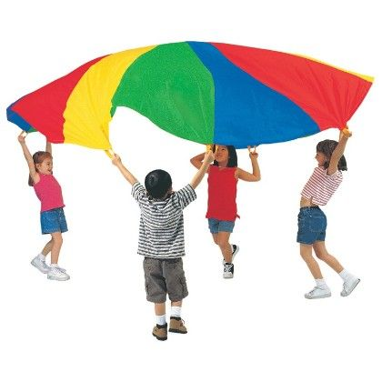 20 Ft Parachute With Handles And Carry Bag - Pacific Play Tents