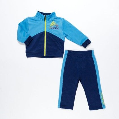 Toddler Boys 2pc Fleece Jacket & Pant Set Blue - RBX