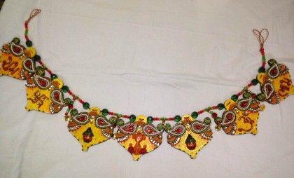 Pooja Thali Round Kaire - Color Crave