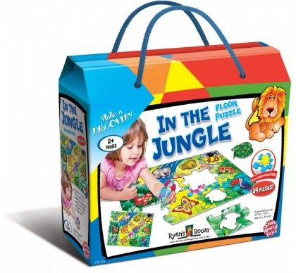 In The Jungle Floor Puzzle - Small World Toys