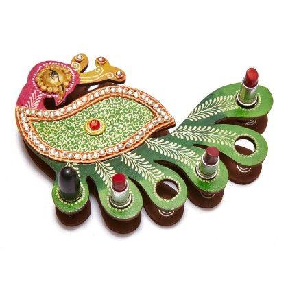 Green Peacock Kundan Rangoli Design Best Deals With Price