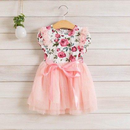 Vintage Rose Limited Edition Dress - Petite Kids