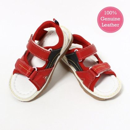 Red Floater Sandal - Tuskey Shoes